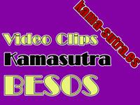 Besos y arte de besar en el Kamasutra. Video GIF animados.